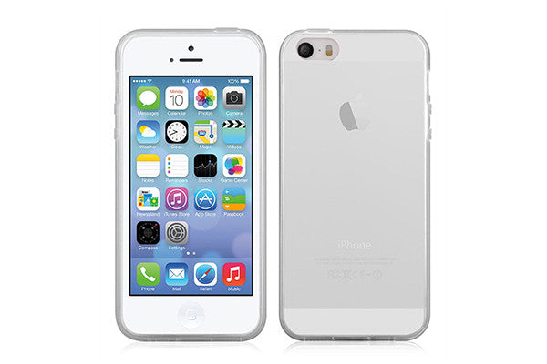 UNIT TPU cover Model TIP til iPhone 5/5S/SE - klar