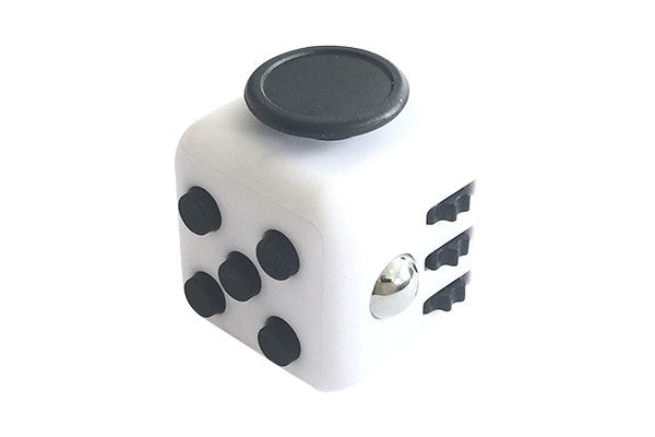 UNIT Stress Cube - Hvid / Sort