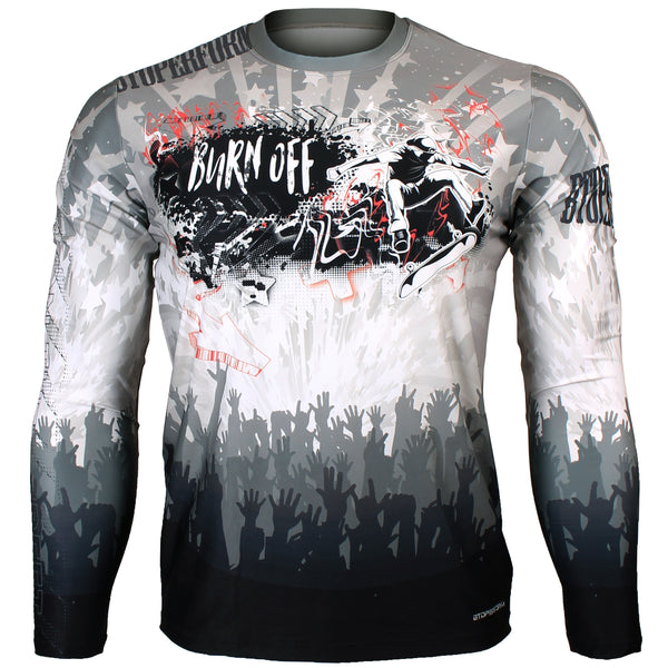 5d1635b8888b Clothing Btoperform Golden Dragon Full Graphic Loose-Fit Long Sleeve Crew  Neck Shirts FR-164 Clothing, ...