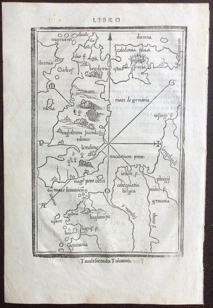 Two very rare maps of the British Isles published c.1528