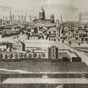 A General View of London, the Capital of England - taken from an eminence near Islington