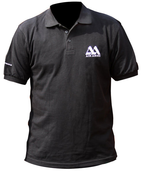 Air Arms Black Polo Shirt