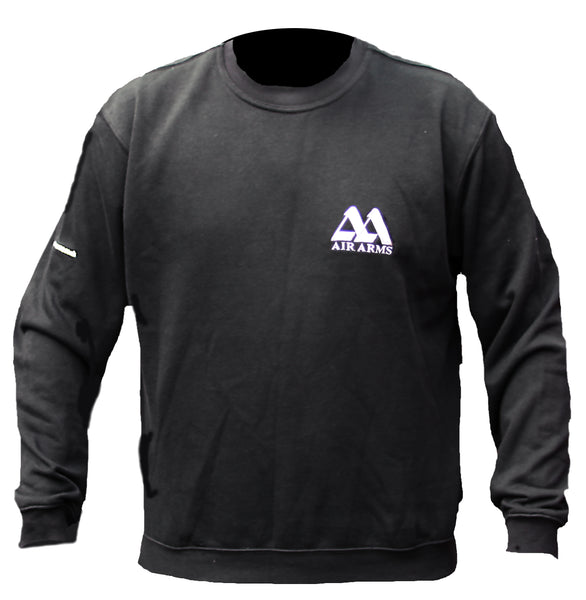 Air Arms Black Sweatshirt