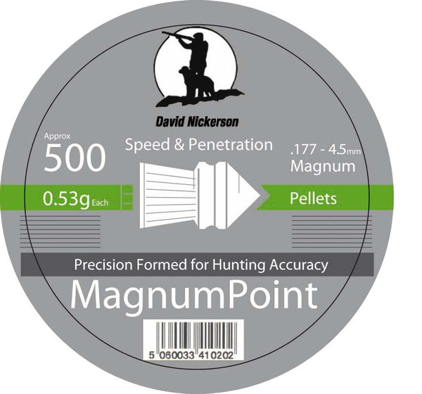 David Nickerson Magnum Point .177/ .22 Calibres
