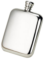 Pewter 6oz Kidney Hip Flask