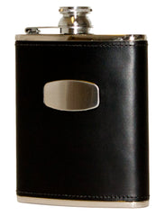 Bisley 6oz Black Hip Flask