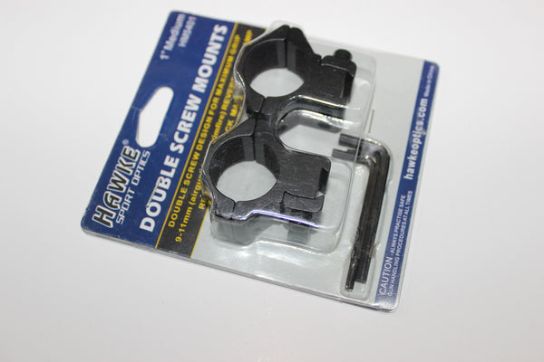 Hawke 9-11mm Reversible Clamp Mounts