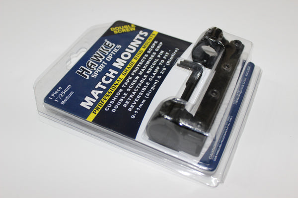 "Hawke 9-11mm/ 1""/ Medium One Piece Mounts"
