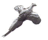 Pewter Pheasant Pin Badge