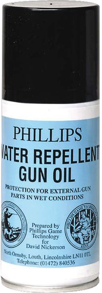Phillips Water Repellant Gun Oil