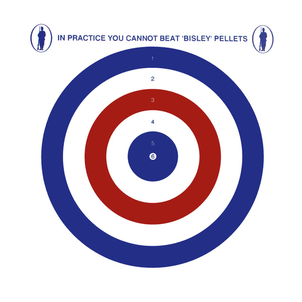 Bisley Coloured Targets (3 packs)
