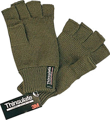 Bisley Thinsulate Fingerless Gloves