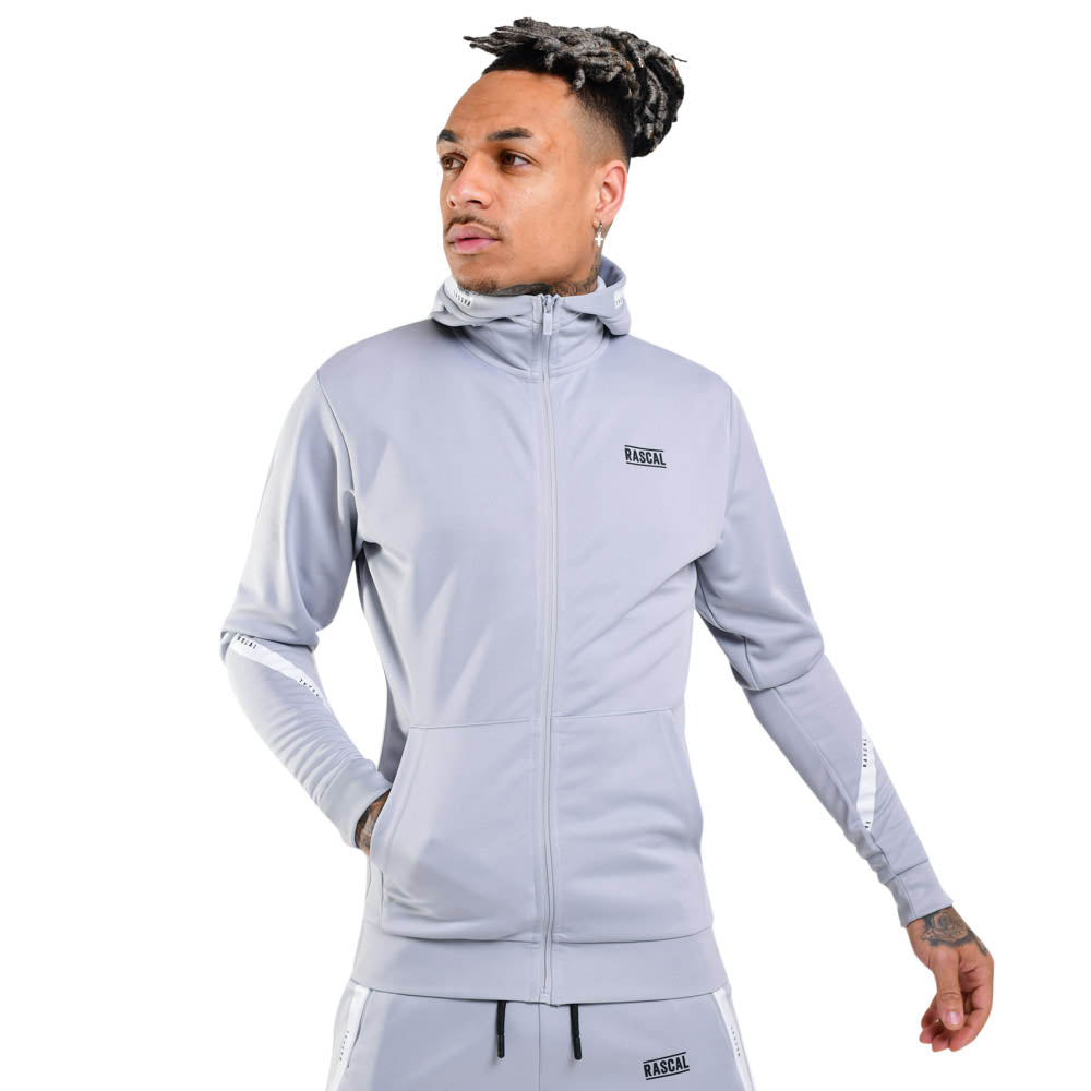 Mens Flection Tape FZ Hood  | Light Grey