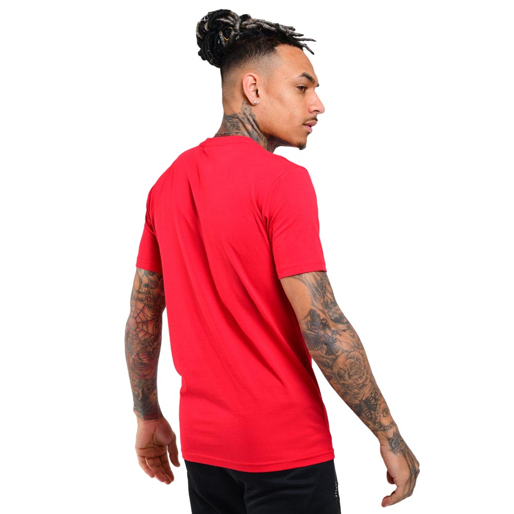 Mens Laminate Tee  | Red
