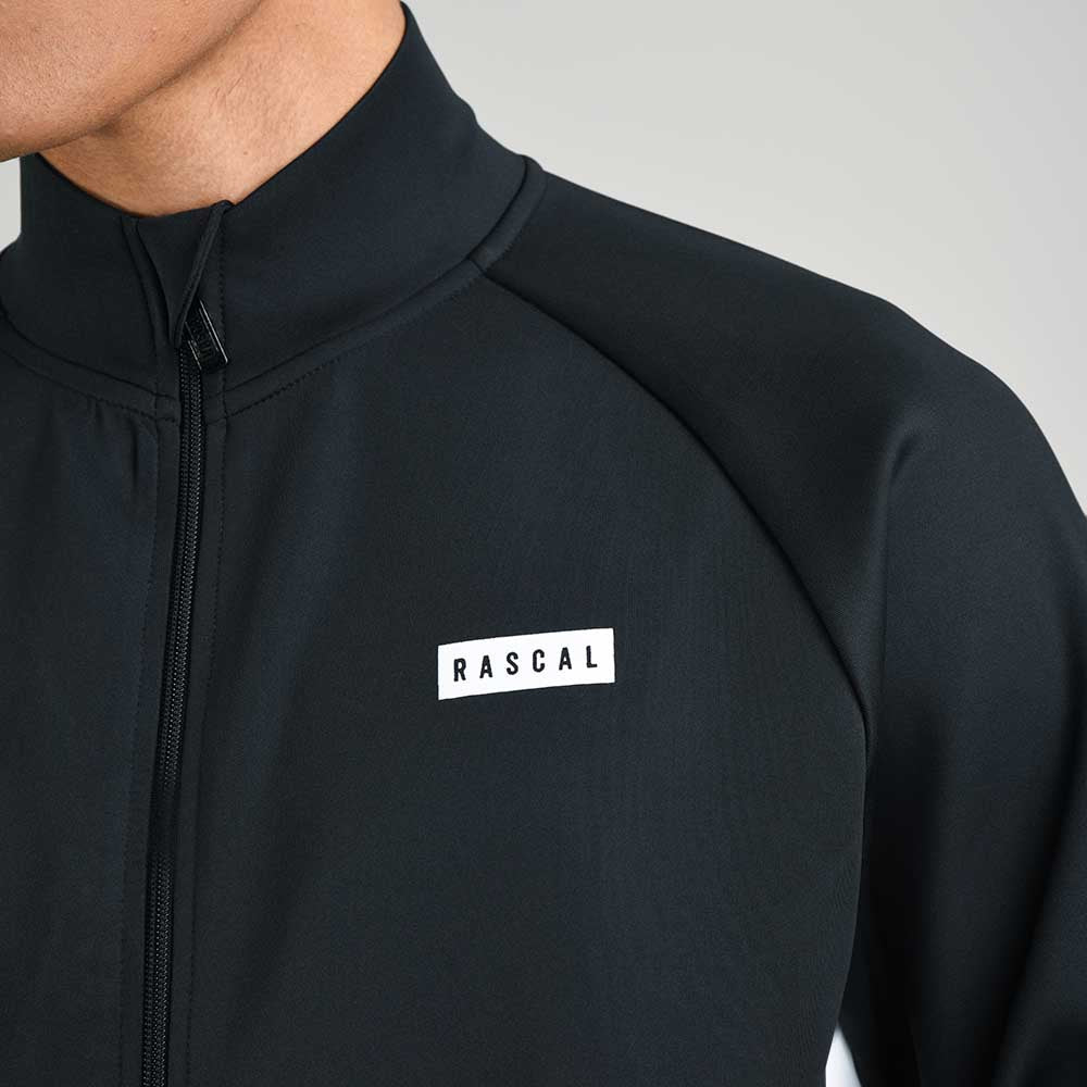 Mens Mercury Full Zip Track Top  | Black