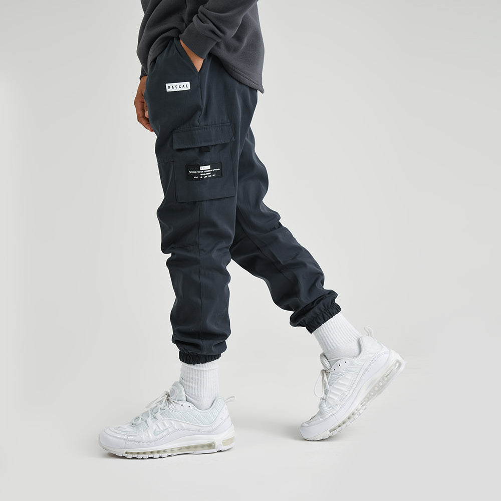 Boys Cargo Pant | Charcoal