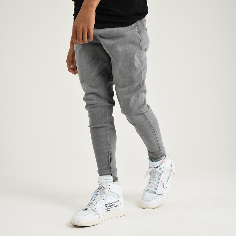 Boys Division Skinny Denim | Grey Wash