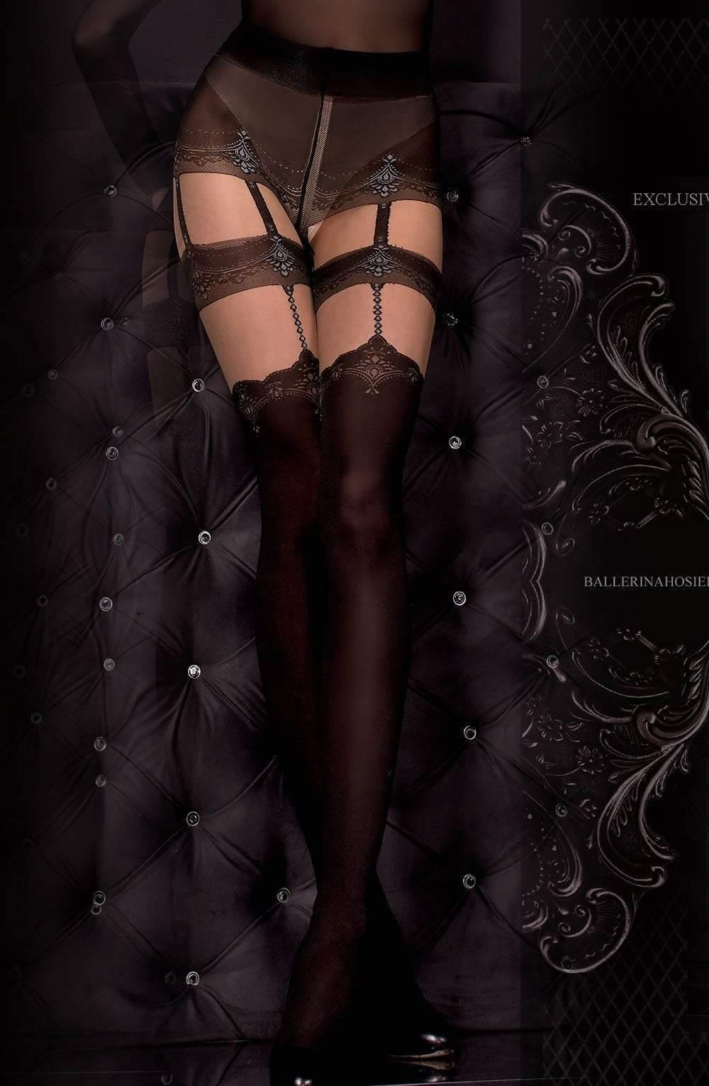 Ballerina 300 Tights Nero (Black)Skin