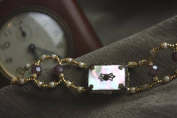 Simply Exquisite Edwardian Brooch Bracelet