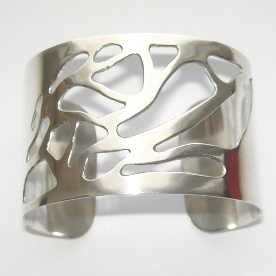Sterling Silver Cuff Bangle Ramalina Trous Bangle, Cuff, Ramalina, Sterling Silver