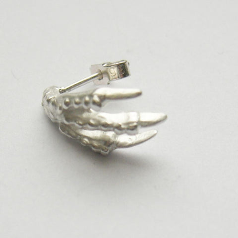 Sterling Silver Bird Claw Stud Earrings Bird, Claw, Earring, Earrings, Immortal, Sterling Silver