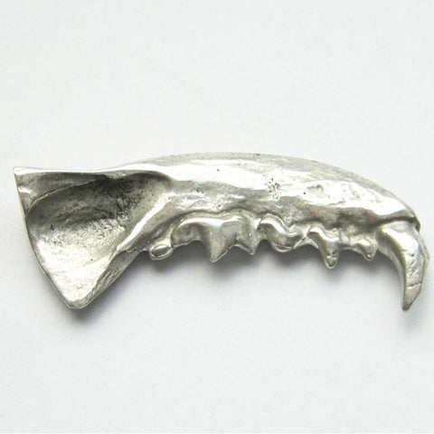 Sterling Silver Mink Jaw Brooch Upper Right Brooch, Brooches, Immortal, Jaw, Mink, Sterling Silver