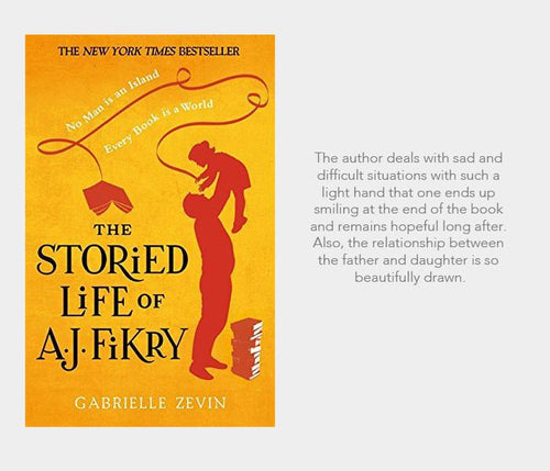 #nowreading: The Storied Life of AJ Fikry
