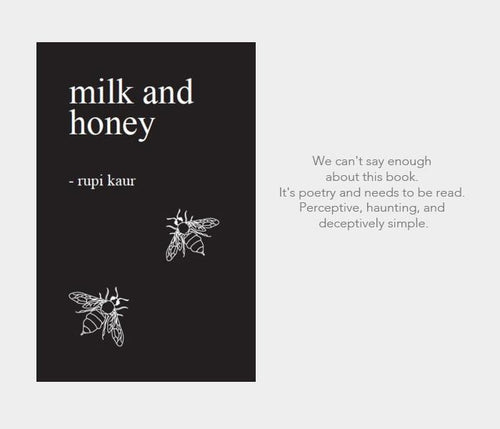 #nowreading: Milk and Honey