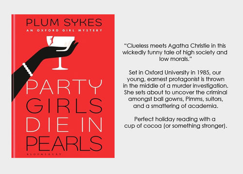 #nowreading: Party Girls Die in Pearls