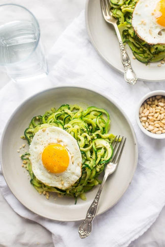 Zucchini Noodles Three Ways