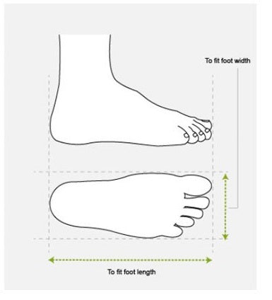 Find the Right Size of Footwear