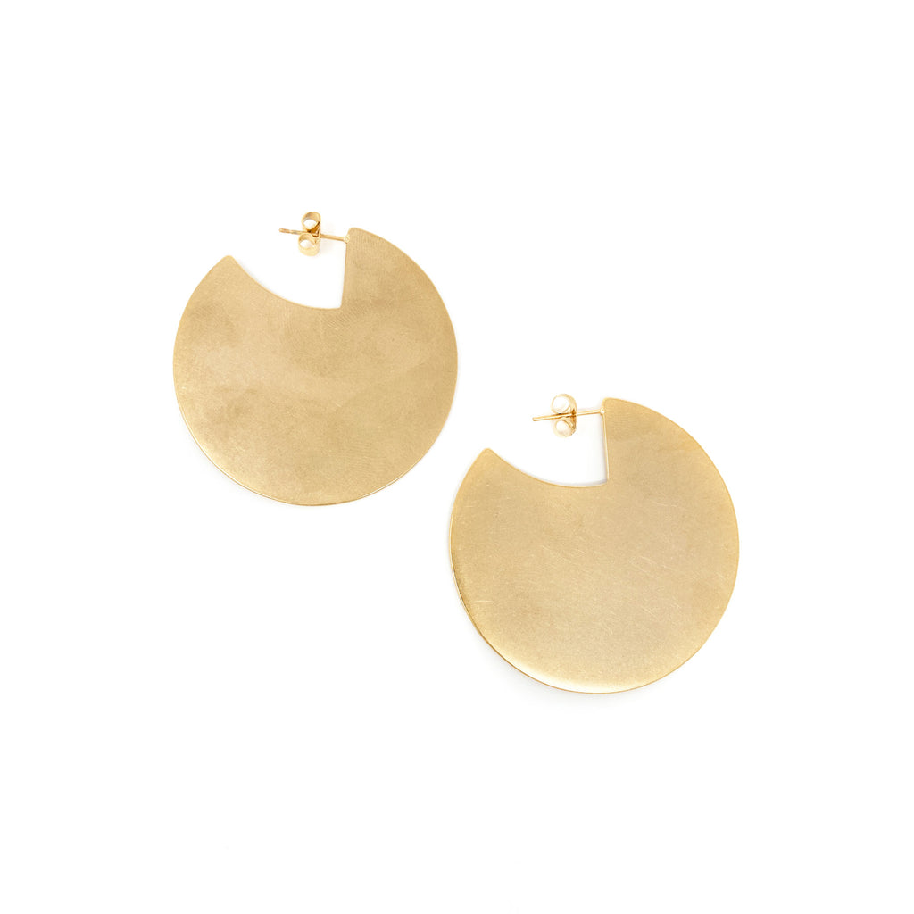 Cutout Disc Earrings - Taramay Design