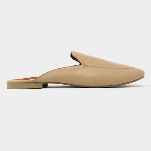 Loafer Slides in Sand - Taramay Design