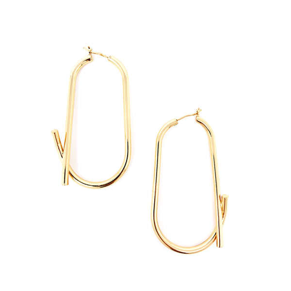 Overlap Earrings - Taramay Design