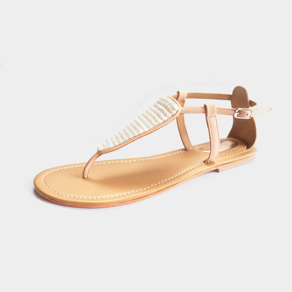 Pearl Sandals in Blush - Taramay Design