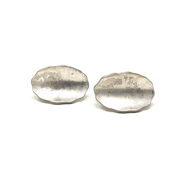 Pebble Earrings in Silver - Taramay Design
