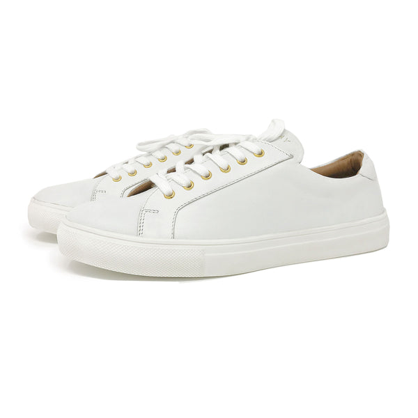 Street Sneakers in White - Taramay Design