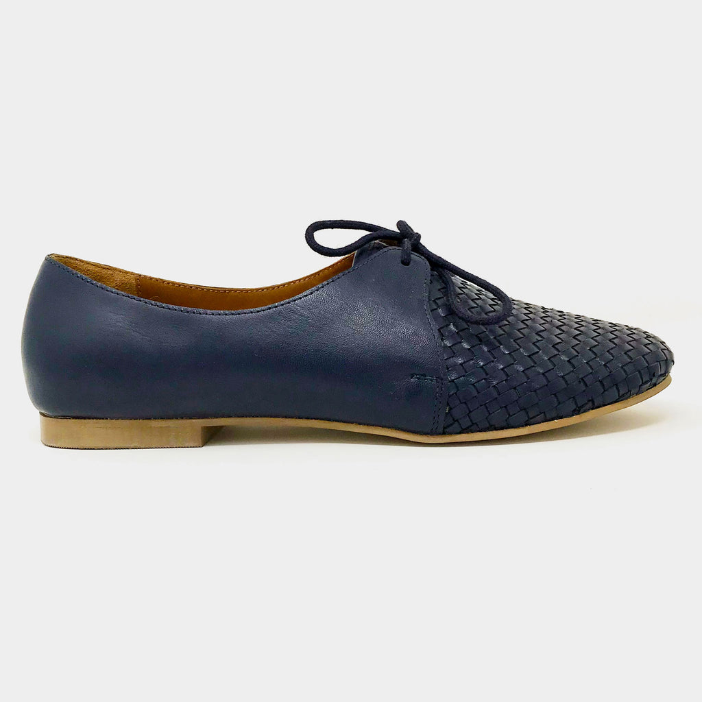 Woven Oxfords in Navy - Taramay Design