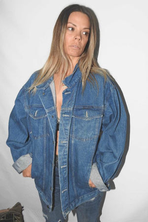 Denim Jacket 2 VINTAGE JEANS WEST DENIM JACKET