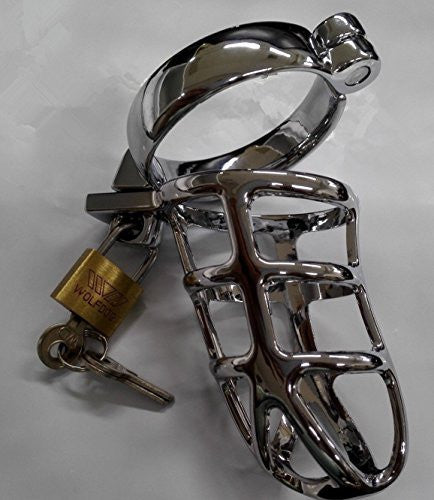 "Male Chastity Device Bondage Cage 2"" Ring"