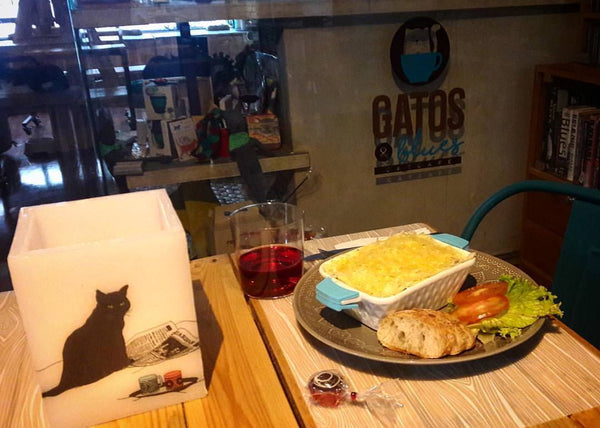 Rescuing Cats and Finding Homes: Gatos y Blues Cat Café