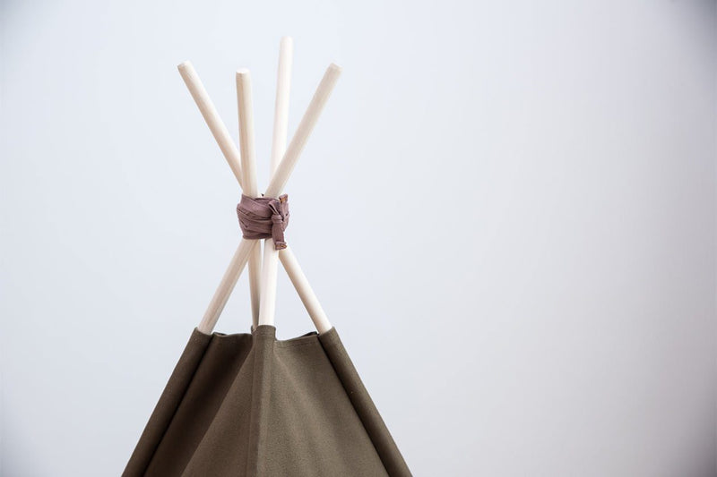 Olive Renaissance Cat Teepee - Tuft and Paw