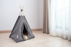 Smoke & Tobacco Cat Teepee - Tuft and Paw