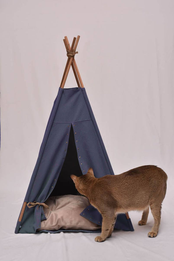 Rain or Shine Cat Teepee - Tuft and Paw