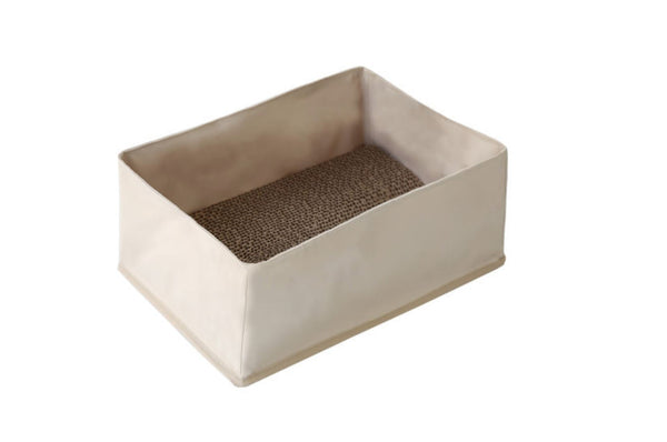 Sanga Box Cat Bed - Tuft and Paw