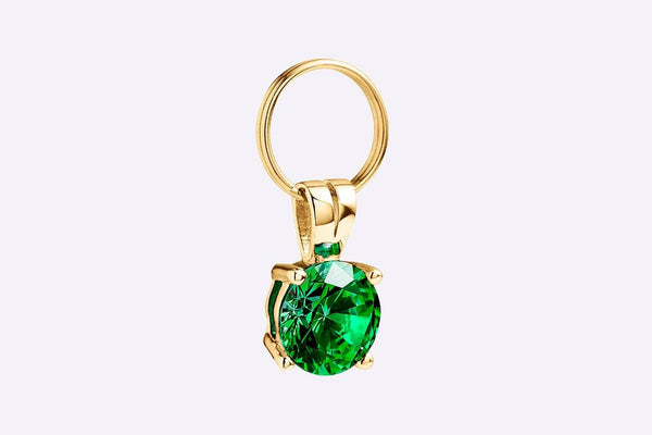 Emerald Collar Gem Cat Collar - Tuft and Paw