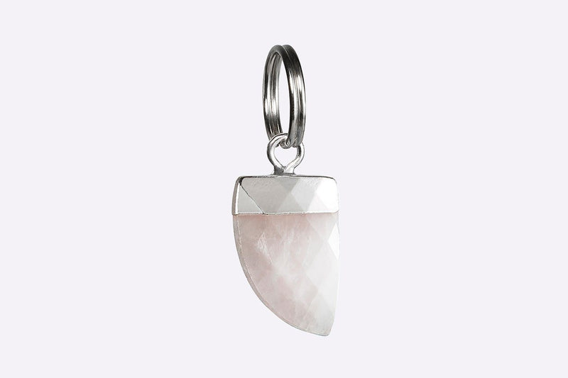 Rose Quartz Collar Gem Cat Collar - Tuft and Paw