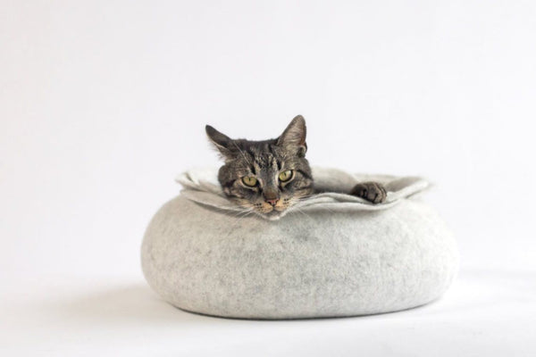Cocoon Cat Bed - Tuft and Paw