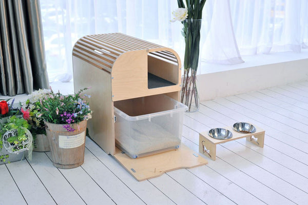 Camada Litter Box - Tuft and Paw