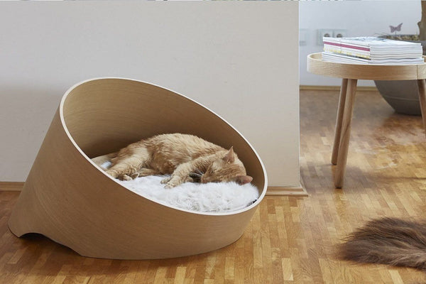 innovative modern cat furniture | Covo Modern Cat Bed | Tuft + Paw